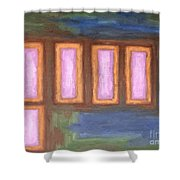 Abstract 139 Shower Curtain by Patrick J Murphy
