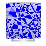 Abstract 151 Shower Curtain by J D Owen