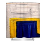 Abstract 402 Shower Curtain by Patrick J Murphy
