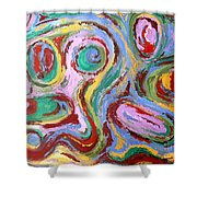 Abstract 43 Shower Curtain by Patrick J Murphy