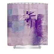 Abstract Floral - A8v4at1a Shower Curtain by Variance Collections