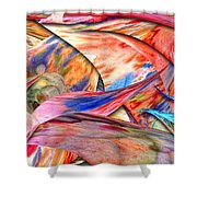 Abstract - Paper - Origami Shower Curtain by Mike Savad