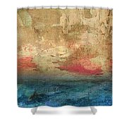 Abstract Print 3 Shower Curtain by Filippo B