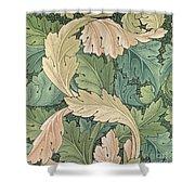 Acanthus wallpaper design Shower Curtain by William Morris