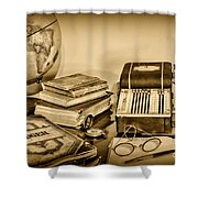 Accountant - It's All About The Numbers Shower Curtain by Paul Ward