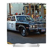 Adam 12 Shower Curtain by Tommy Anderson