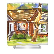 Adams Home Shower Curtain by Kip DeVore