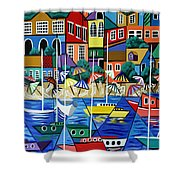 After Hours Shower Curtain by Anthony Falbo