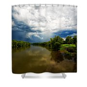 After The Storm Shower Curtain by Everet Regal