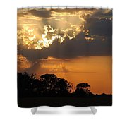 After The Storm Shower Curtain by Francie Davis