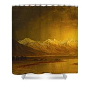 After The Storm Shower Curtain by Gilbert Davis Munger