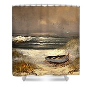 After The Storm Passed Shower Curtain by Sandi OReilly