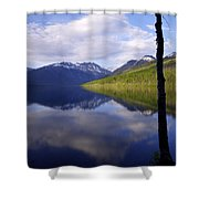Afternoon Light Shower Curtain by Chad Dutson