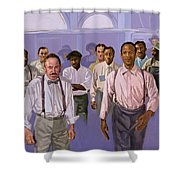 Against All Odds Shower Curtain by Colin Bootman