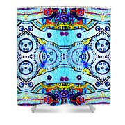 Age Of The Machine 20130605 Shower Curtain by Wingsdomain Art and Photography