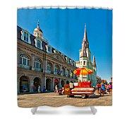 Ahh...new Orleans Shower Curtain by Steve Harrington