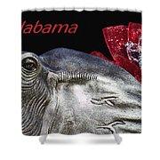 Alabama Shower Curtain by Kathy Clark