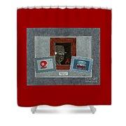 Alabama Trio  Shower Curtain by Herb Strobino