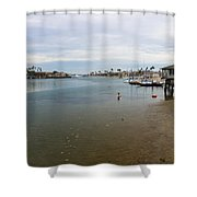 Alamitos Bay Shower Curtain by Heidi Smith