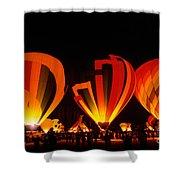 Albuquerque Balloon Festival Shower Curtain by Mark Newman