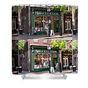 Alexandria Ice Cream Shower Curtain by Mike Savad