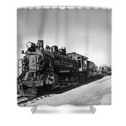 All Aboard Shower Curtain by Robert Bales
