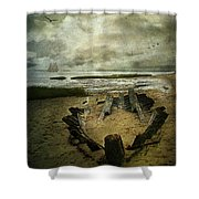 All That Remains Shower Curtain by Lianne Schneider