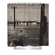 All That's Left Of Us Shower Curtain by Laurie Search