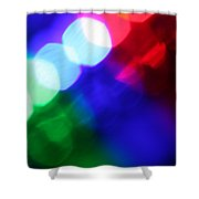 All The World's A Stage Shower Curtain by Dazzle Zazz