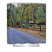 Almost Home Shower Curtain by Paul Ward