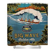 Aloha Series 2 Shower Curtain by Cheryl Young