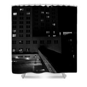 Alone Together Shower Curtain by Trever Miller