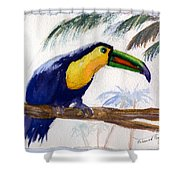 Amazonian Shower Curtain by Mohamed Hirji