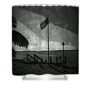 America All The Way 5 Shower Curtain by Rene Triay Photography