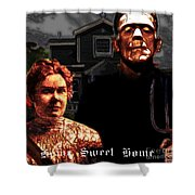 American Gothic Resurrection Home Sweet Home 20130715 Square Shower Curtain by Wingsdomain Art and Photography