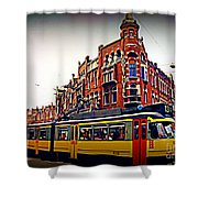 Amsterdam Transportation Shower Curtain by John Malone