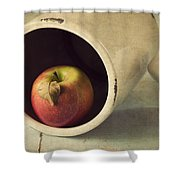 An Apple A Day... Shower Curtain by Amy Weiss