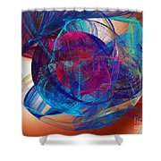 An Eye To The Soul Shower Curtain by Andee Design