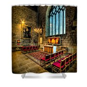 Ancient Cathedral Shower Curtain by Adrian Evans