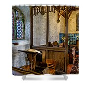 Ancient Chapel 2 Shower Curtain by Adrian Evans
