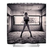 Andromeda Shower Curtain by Stylianos Kleanthous