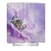 anemone Shower Curtain by Priska Wettstein