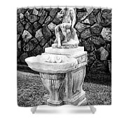 Angel Sanctuary Biltmore Asheville Nc Shower Curtain by William Dey