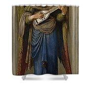 Angels Shower Curtain by John Melhuish Strudwick
