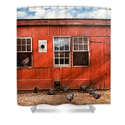 Animal - Bird - Bird Watching Shower Curtain by Mike Savad