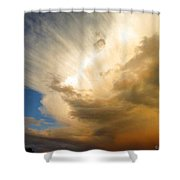 Another Incredible Cloud Shower Curtain by Joyce Dickens