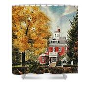 Antebellum Autumn Ironton Missouri Shower Curtain by Kip DeVore
