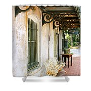 Antique Savannah Shower Curtain by William Dey