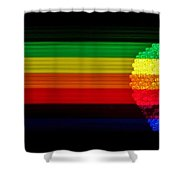 Apple Computer Inc Shower Curtain by Benjamin Yeager