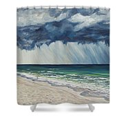 Approaching Gail Shower Curtain by Danielle  Perry
